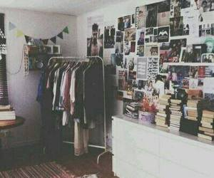 room, bedroom, and book image