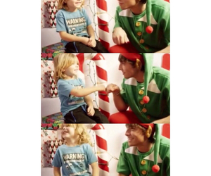 christmas, elf, and little kid image