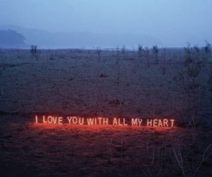 sign and love image