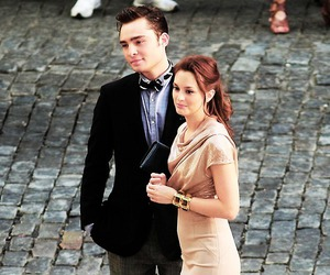 gossip girl, leighton meester, and couple image