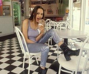 Angelina Jolie, 90s, and grunge image