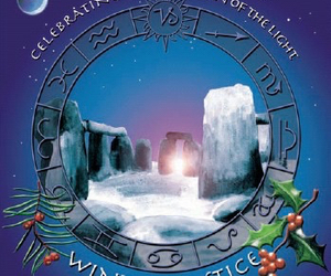 christmas, yule, and winter solstice image