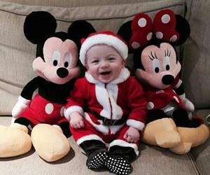 baby, christmas, and disney image