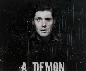 dean winchester, supernatural, and demon image
