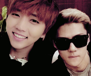 exo, b1a4, and sandeul image