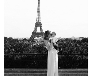 paris, baby, and france image