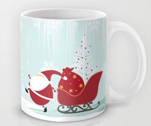 christmas, coffee mug, and home image