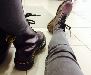 boots, fall, and doctormartens image