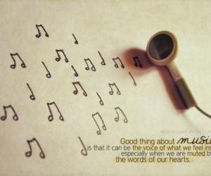 feeling, heart, and ipod image