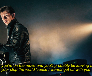 arctic monkeys and stop the world image