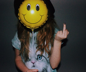 grunge, smiley, and soft image