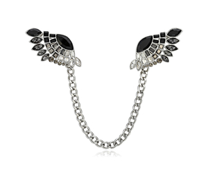 angel wing, wing collar brooch, and wing brooch image