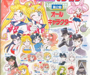 ami, endymion, and sailor moon image
