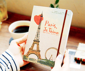 paris, book, and je t'aime image