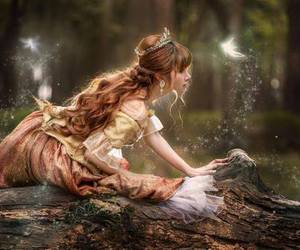 art, Fairies, and forest image