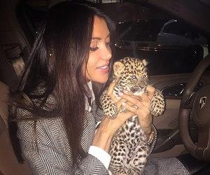 girl, animal, and luxury image