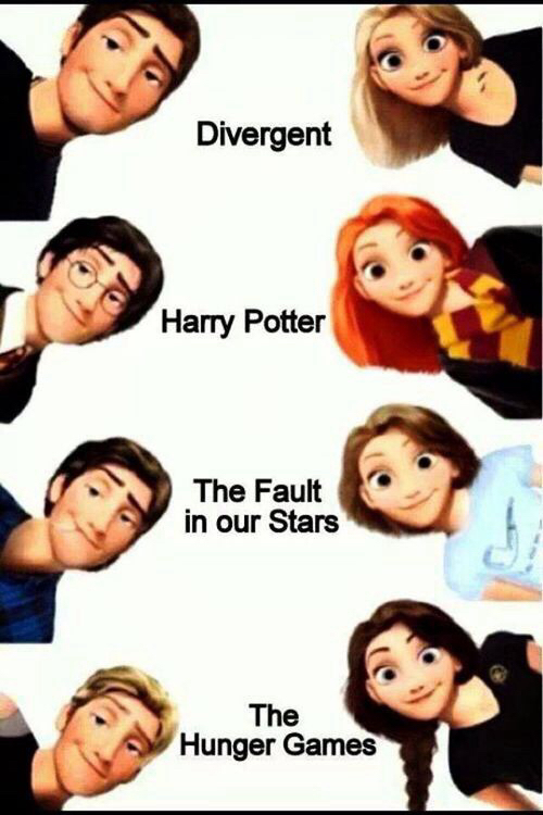 modern, rapunzel, and the fault in our stars image