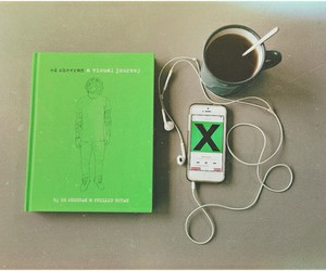 ed sheeran, music, and book image