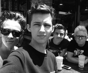 troye sivan, tyler oakley, and connor franta image