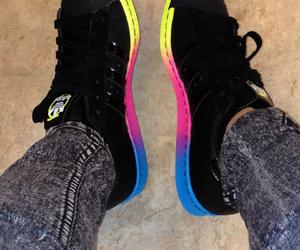 adidas, black, and pink image