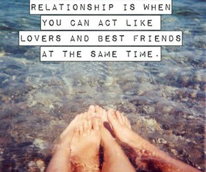 best friends, sea, and lovers image