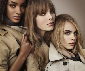 Burberry, model, and cara delevingne image