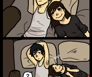 couple, cute, and cuddle image