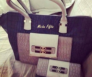 bags, guess, and pochette image
