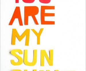 sunshine and text image