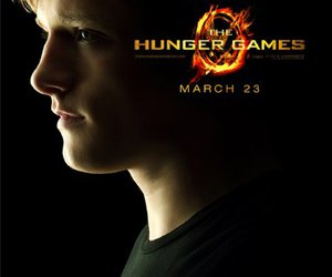 the hunger games, peeta, and hunger games image