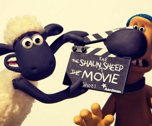 shaun the sheep, shaun o carneiro, and mark burton image