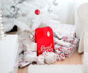 christmas, gifts, and tree image