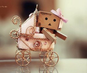 danbo, baby, and pink image