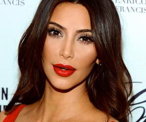 kim kardashian, beauty, and hair image