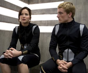 katniss, catching fire, and peeta mellark image