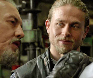 Charlie Hunnam, sons of anarchy, and jax image