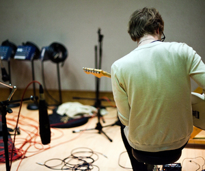 cameron mitchell, guitar, and glee project image