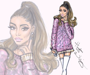 ariana grande, hayden williams, and art image