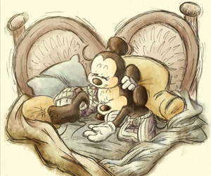 mickey, minnie, and disney image