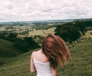 girl, indie, and red hair image