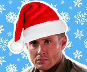 christmas, dean, and jensen image