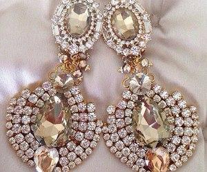 earrings, jewelry, and diamond image