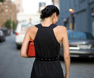 bag, girl, and caroline issa image