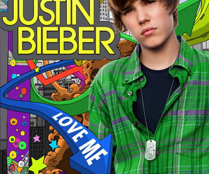 justin bieber, color, and love me image