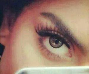 eyes, girl, and عيون image