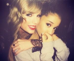 ariana grande, Taylor Swift, and ariana image
