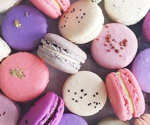 food, macarons, and dessert image