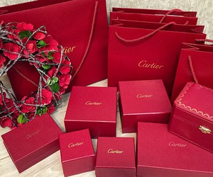 cartier, luxury, and red image