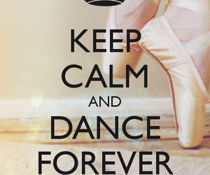 dance and keep calm image