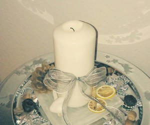 bow, candle, and stars image